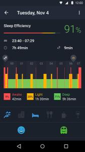 sleep runtastic